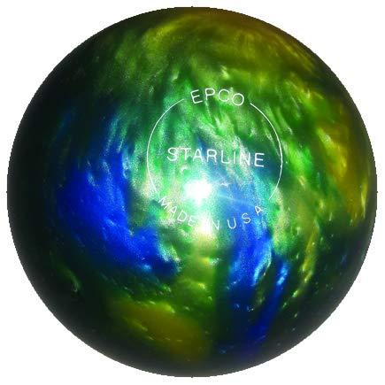 EPCO-Duckpin-Bowling-Ball-Starline-Topaz-Blue-Pearl-Single-Ball