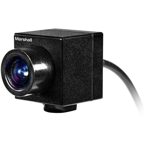 Marshall Electronics CV502-WPM 2.5MP Full HD Weatherproof Mini Broadcast Camera with 3.7mm Lens, 1080p, 1080i, & 720p at 60 fps by Marshall