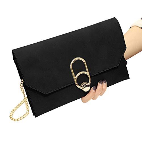 fille Messenger Arichtop à à femmes PU chaîne Couleur Mode sac pure Sacs unique main bracelet bandoulière ZOwFtqO
