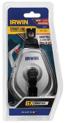 (Irwin Industrial Tool 1932877 Mach 6 Chalk Line Reel, 100-Ft. - Quantity 6)