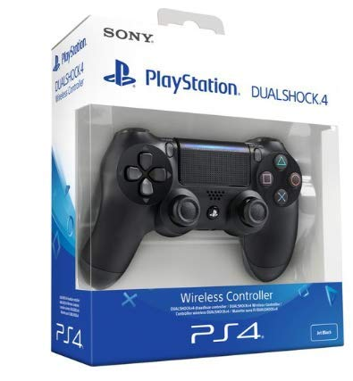 Sony PS4 1 TB Slim Console (Free Games: God of War/Uncharted 4/Horizon Zero Dawn) + Dualshock 4 Wireless Controller for Playstation 4 - Black V2