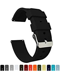 Barton Silicone Watch Bands - Quick Release Straps -...