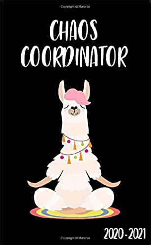 Chaos Coordinator 2020-2021: Nifty Meditating Llama 2 Year ...