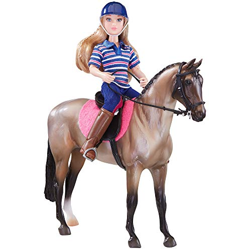 Breyer Freedom Series (Classics) English Horse & Rider Doll Set | (1:12 Scale) | Model #61114