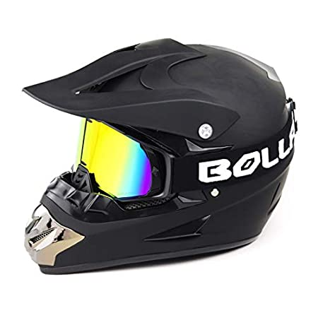for ATV Off Road Racing Motorbike Goggles Adult Anti Fog/&UV Protection Lens Motocross Glasses For Helmet HONCENMAX Upgrade Motorcycle Goggles