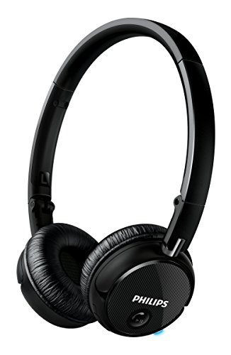 Philips SHB6250 Bluetooth Wireless Headphone NFC B...