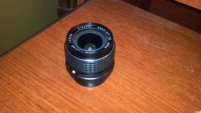 Pentax SMCP Shift 28mm f/3.5 Lens with Soft Case Pentax Soft Lens Case