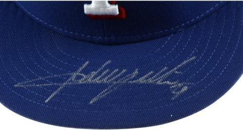 Adrian Beltre Texas Rangers Autographed New Era Cap Fanatics Authentic Certified Autographed Hats