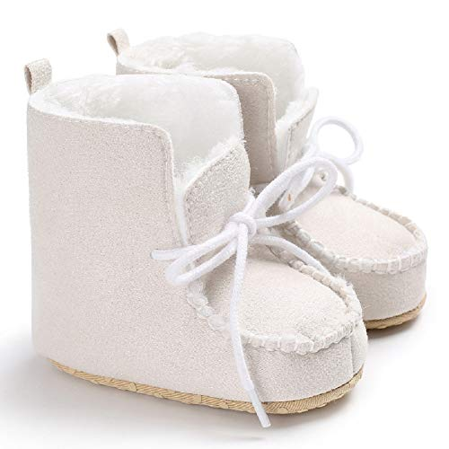 Pictures of Fnnetiana Strappy Baby Snow Boots Winter Babies 1