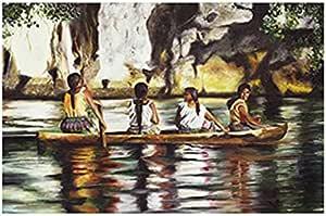 لوحة فنية كلاسيكية من فوتو بلوك مقاس 40 سم × 30 سم - 2724819301988