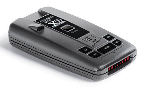 Escort Passport 8500 X50 Radar and Laser Detector Red Display