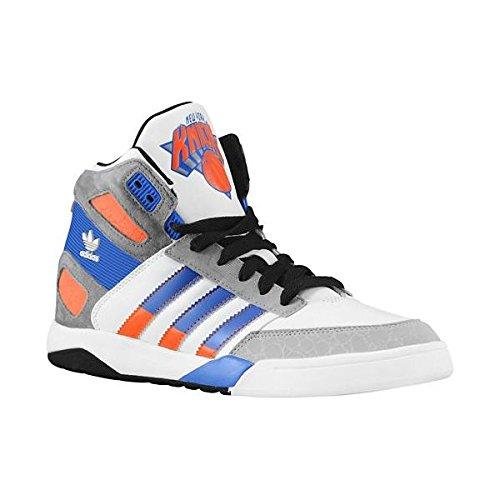 ADIDAS Herren STRONGSIDE New York Knicks D66101 Leder Sneaker weiß