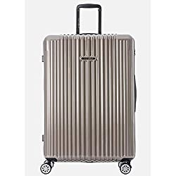 "Germany NaSaDen 26"" Luggage Camel Gold-Hardside Travel Checked Luggage-Super Lightweight, 360° Spinner Wheels, TSA Luggage Lock-Schloss Sanssouci Zipper Luggage for Women/Men/Business/Trip/Travel"