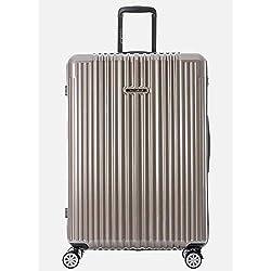 "Germany NaSaDen 26"" Luggage Camel Gold-Hardside Travel Checked Luggage-Super Lightweight, 360° Spinner Wheels, TSA Luggage Lock-Schloss Sanssouci Zipper Luggage for Women/Men/Business/Trip/Travel"
