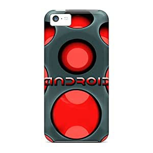 Iphone 5c Case Cover Skin : Premium High Quality Android Red Case