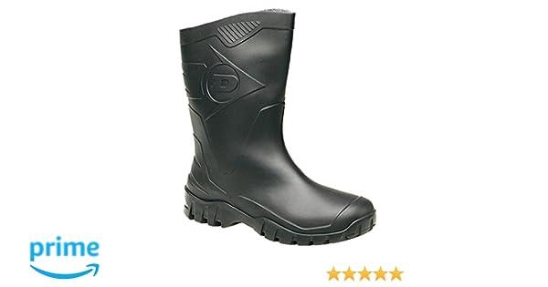 Dunlop Hombres duk680211 Botas - Negro, 4 UK: Amazon.es: Zapatos y complementos