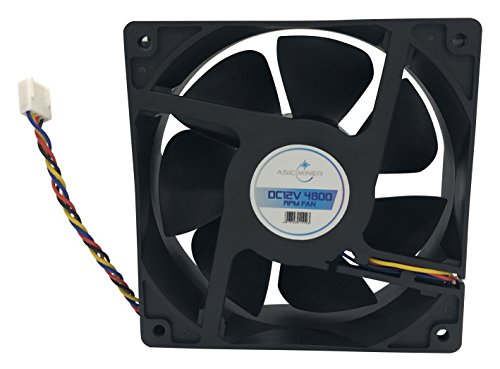 Asicminer Fan for Antminer S3, S5, S5+, S7, S9 D3, L3 by ASICMiner (Image #4)