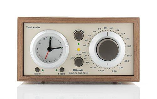 Tivoli Audio Model Three BT in Walnut/Beige