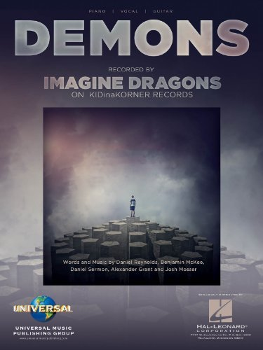 Imagine Dragons - Demons - Piano/Vocal/Guitar Sheet Music Single
