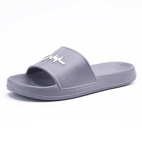 Kjøpe Flip Og Sandaler For Flop Kvinners Menns Innendørs Stranden Easy Pvc Grå Tøffel Menn Sandaler Go 1qHqB
