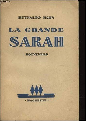 Téléchargement gratuit de livres audio en ligne LA GRANDE SARAH PDF DJVU FB2 B003U5DM6G