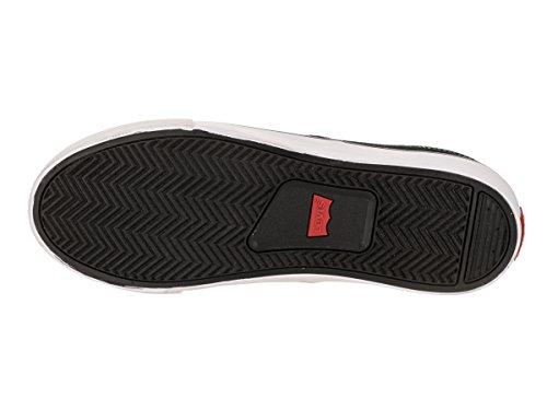 ... Levis Menns Monterey Denim Sneaker Svart ...