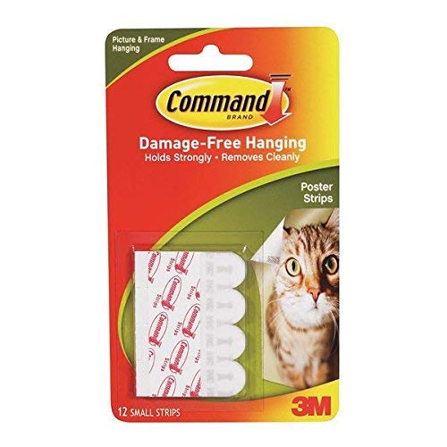 Command Poster Strip Mounting Tape with Adhesive (Pack of 36) by Generic