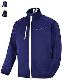 Men's Golf Jacket Lightweight Full Zip Loose Training Track Active Spring Fall