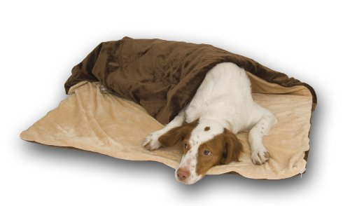 K&H Thermo-Pet Throw, Large, Mocha & ()