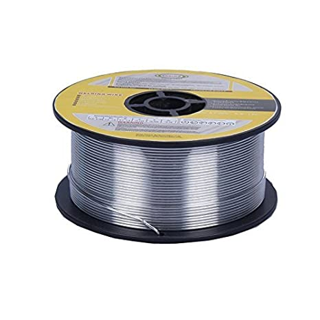 Anhalt 1 kg relleno alambre Diámetro 0,8 mm Alambre de soldadura MIG MAG 1 kg - sin gas argón e71t de GS: Amazon.es: Bricolaje y herramientas