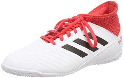 adidas Predator Tango 18.3 in J, Scarpe da Calcio Unisex – Bambini Bianco (Ftwwht/Cblack/Reacor Ftwwht/Cblack/Reacor)