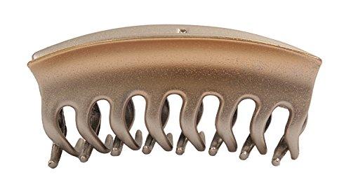 Caravan French Hand Painted Wave Teeth Claw, Metallic Blend