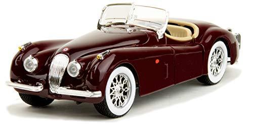 BBURAGO 1:24 W/B 1951 JAGUAR XK120 ROADSTER DIECAST CAR MODEL