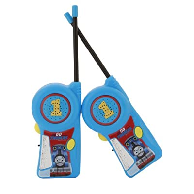Walkie Talkie 11085 Thomas & Friends for Kids Flexible Saftey Antenna and Morse Code with On/Off Switch, HIGH, Stylish Appearance, Lovely and Fashion, 2 Pieces, Blue: Toys & Games