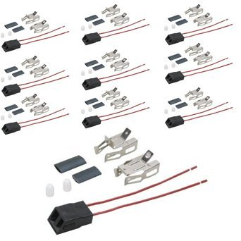 (10 Pack) Aftermarket Replacement for Kenmore Stove Heating Element / Surface Burner Receptacle Kit # 5303935058