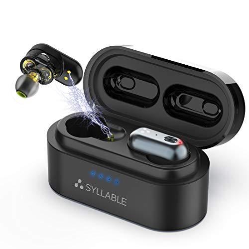 Syllable Bluetooth Kopfhörer  V5.0 Weltpremiere Qualcomm QCC3020 Chip...