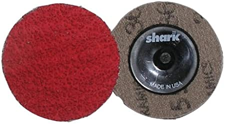 Red 25-Pack Shark 12622 2-Inch Grit-36 Ceramic Grinding Discs