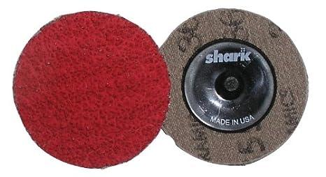 Red Grit-40 Pack-25 Shark Shark 12623 2-Inch Ceramic Grinding Discs