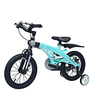R for Rabbit 14T Inches Tiny Toes Jazz Steel Bicycle for Kids 3-5 Years – Lake Blue