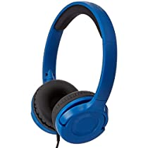 AmazonBasics  blue On-Ear Headphone  (Blue)