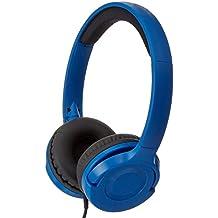Auriculares de diadema AmazonBasics Intrauriculares Paquete de 10 Azul