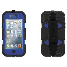 Griffin - Survivor Case for iPhone 5/5s, Blue/Black GB39734 (DMi EA