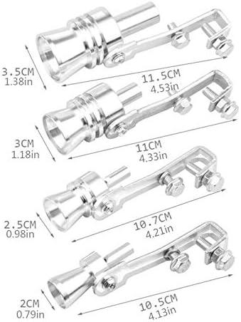 Voiture modifi/ée Turbine Sifflet Squeaker Moto Queue Sifflet D/échappement Moto Tuyau Squeaker Accessoires De Voiture