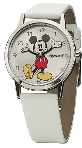 Disney-Ingersoll 002SLWH CLASSIC TIME Ladies Mickey Watch