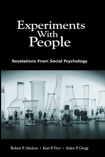 Experiments With People: Revelations From Social Psychology Pdf