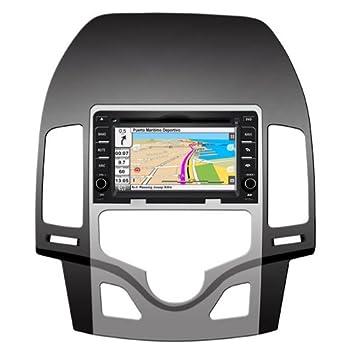 """2DIN 6,7"""" HYUNDAI I30 (2009-2011): NAVEGADOR GPS,"""
