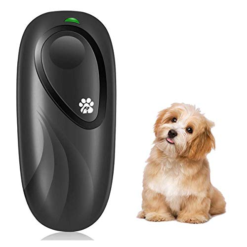 KCPPET Anti Barking Device, Ultrasonic Dog Bark Deterrent 2 in 1 Dog Bark Training for Indoor and Outdoor Control Range…