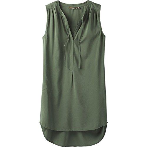 (prAna Women's Natashort Sleeve A Tunic T-Shirt, Forest Green, X-Small)