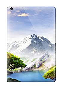 Top Quality Protection Dream Lake Artistic Landscape Abstract Artistic Case Cover For Ipad Mini/mini 2