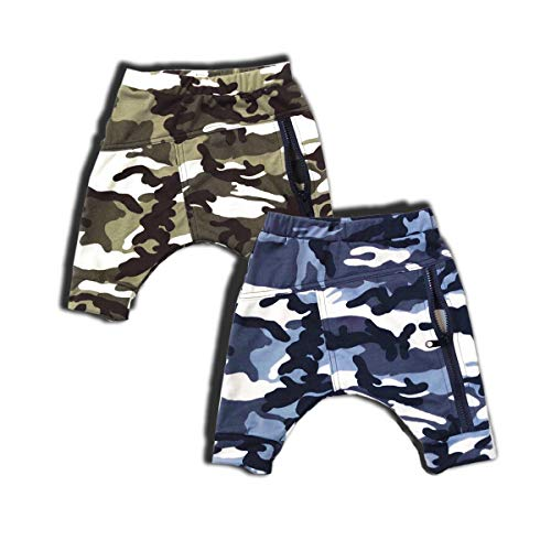 YOUNGER TREE Toddler Baby Boy's Bottoms Summer Shorts Camouflage Pants (12-18 Months, Style A)